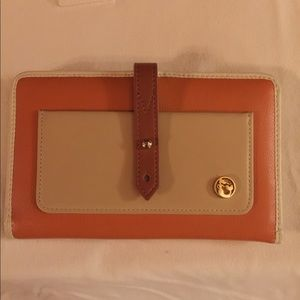 Spartina Leather Snap Wallet